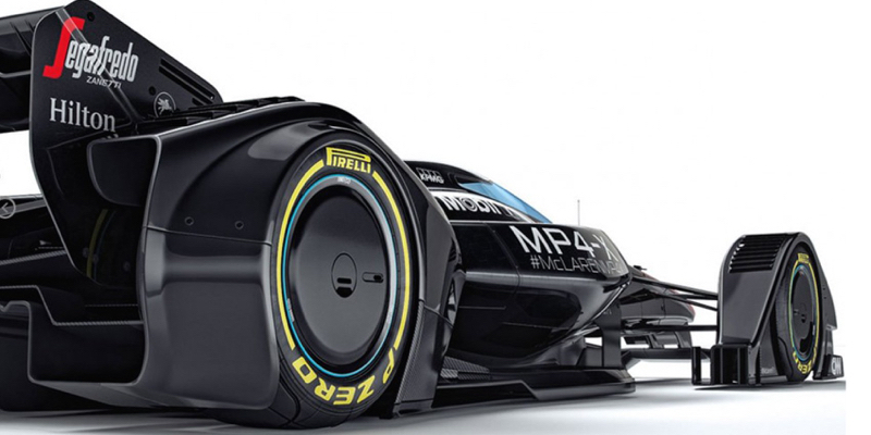 McLaren MP4-X : La F1 de demain ?