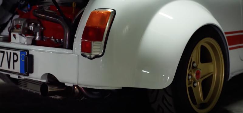Fiat Abarth 695 Ss Assetto Corsa Restomod Sous Ecsta