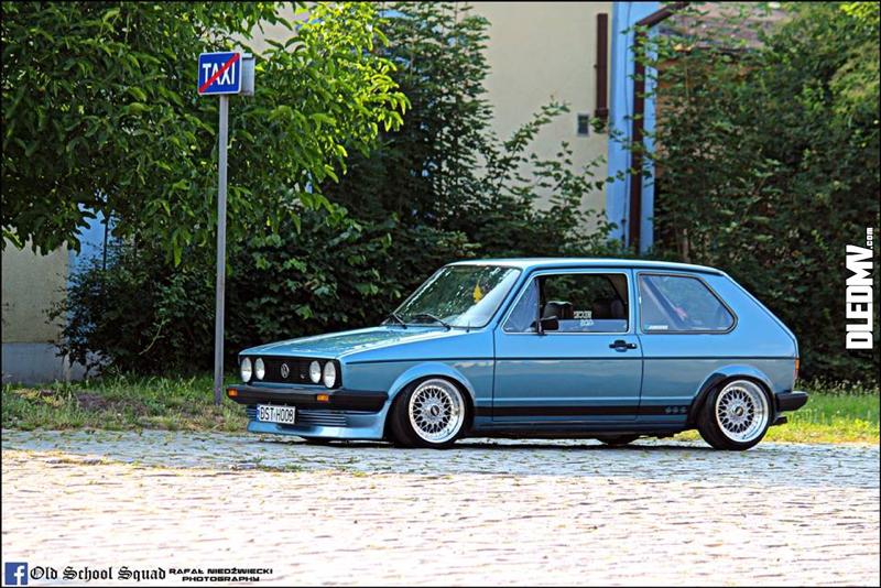 DLEDMV - VW Golf 1 blue full BBS - 05