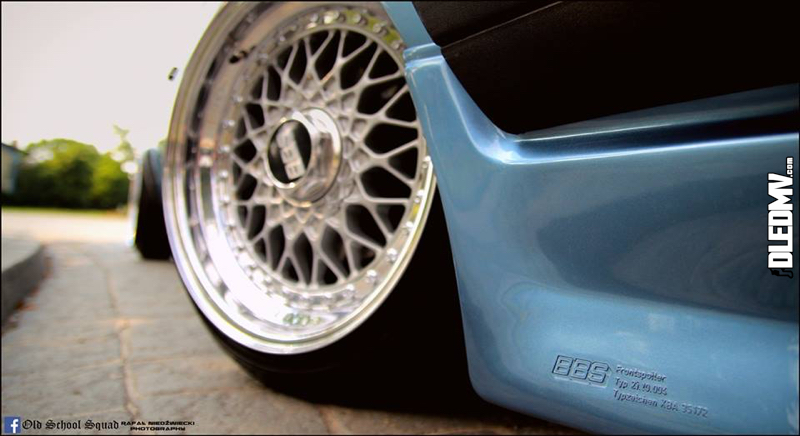 DLEDMV - VW Golf 1 blue full BBS - 06