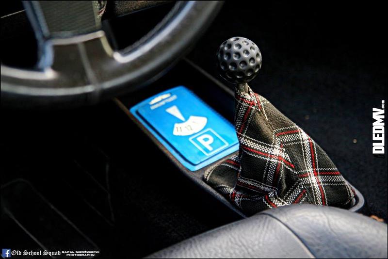 DLEDMV - VW Golf 1 blue full BBS - 14
