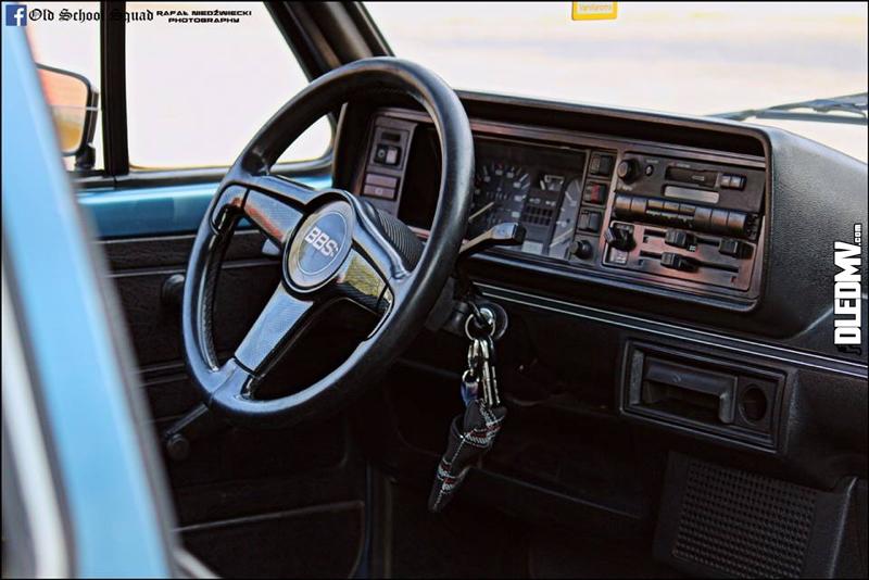 DLEDMV - VW Golf 1 blue full BBS - 15