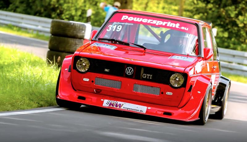 DLEDMV - VW Golf 1 hillclimb Schonborn - 03