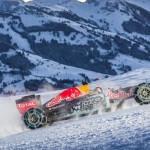 Une F1 dans la neige ? Quelle idée ! Faudrait être chtarbé !