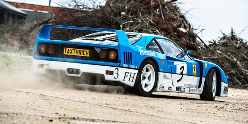 Ferrari F40 GT Farmkhana… Ils sont de retour et encore plus déjantés !
