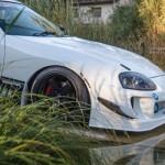 Supra Swap 2JZ-GTE - Toute de blanc vêtue !