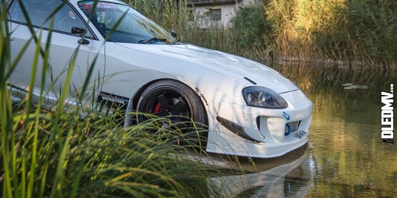 Supra Swap 2JZ-GTE – Toute de blanc vêtue !