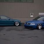 BMW M3 E46 Vs Audi S4 B5 - Duel hors catégories...