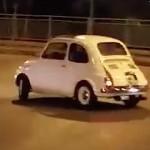 Drift en Fiat 500… Tout est dans le fun !