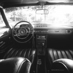 '69 Mercedes 250CE... Asphalte Tatoo ! 2