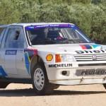 205 T16 Peugeot Sport - De la poussiere des rallyes à celle des musees...