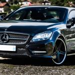 Mercedes CLS 350 - Noir c'est noir !
