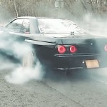 Nissan Skyline R32 Smoking Machine