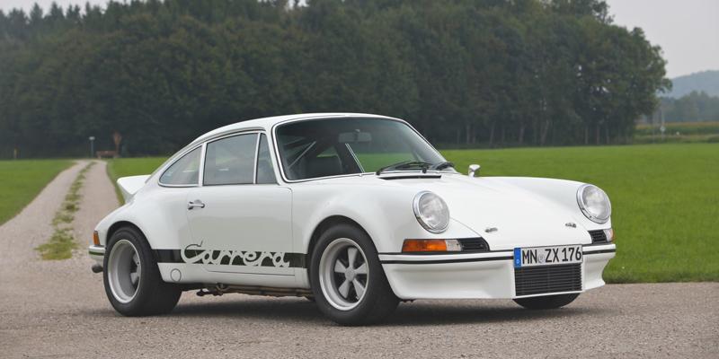 Restomod Porsche 911 RSR 3.4 signé RUF !