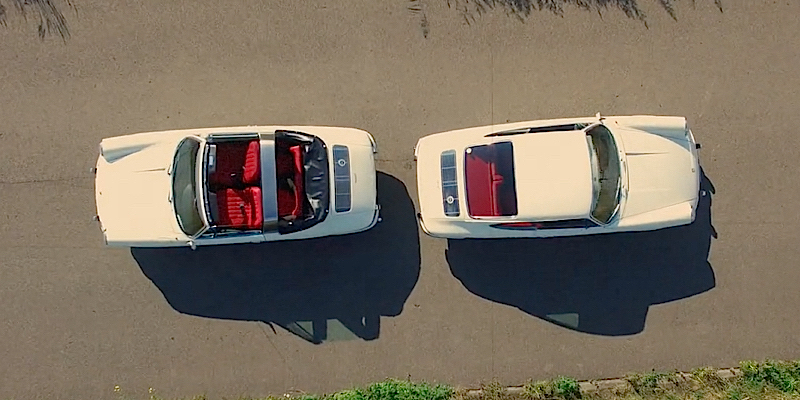 Two 67′ Porsches… Ambiance 912 !