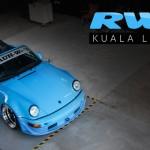 Porsche 964 Cab RWB : Akira à Kuala Lumpur
