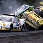 Rallycross : Metro 6R4 vs Opel Kadett... Compresseur vs turbo !