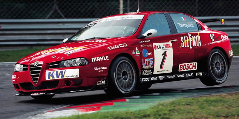 Alfa 156 WTCC en action… Ce bruit…!