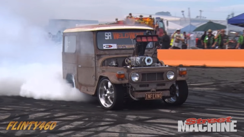 DLEDMV FJ40 burn machine 03