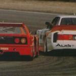 GrC et IMSA GTO avec la monstrueuse Audi 90 en guest !