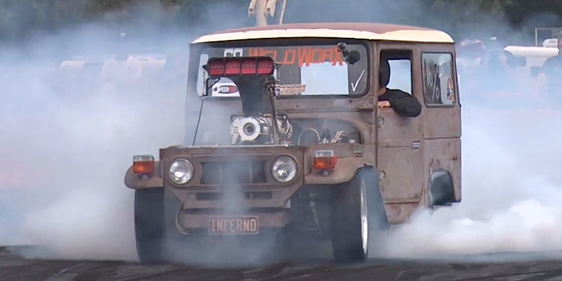 Land Cruiser FJ40 Big Block – Burn Machine !