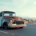 Pick up Chevy '58 - U.S.A. Baby !