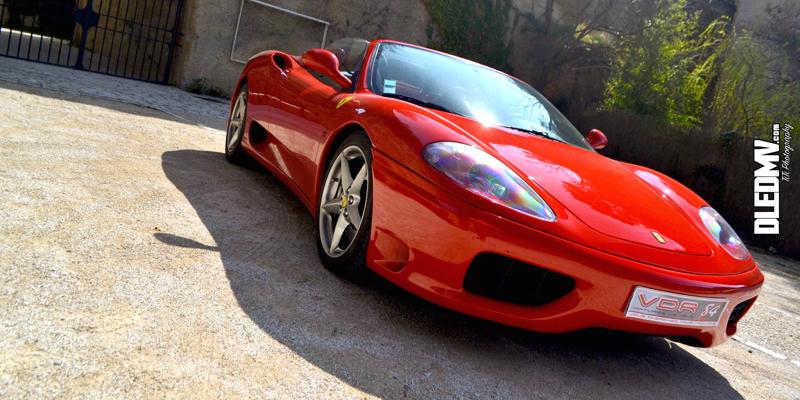 Ferrari 360 Modena Spider… V8 en Dolby Surround !
