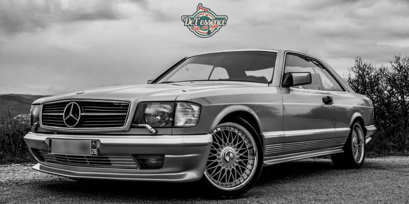 Mercedes 500 SEC, le cruiser Old School !
