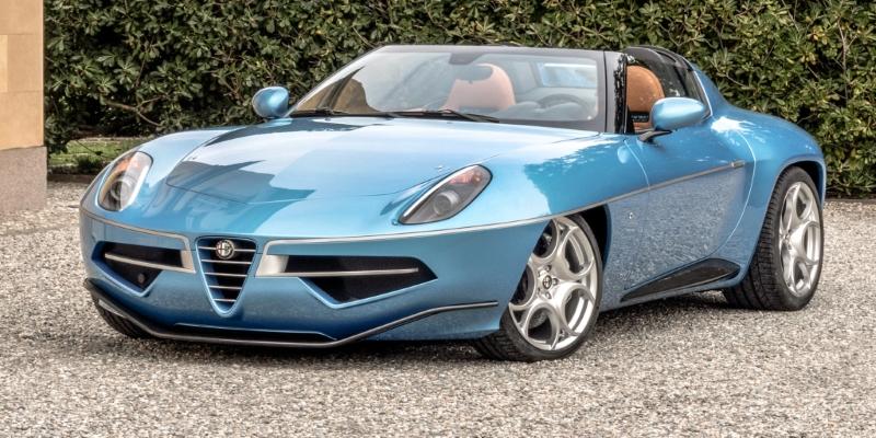 Genève 2K16 – Alfa Romeo Disco Volante Spider – Juste un rêve…