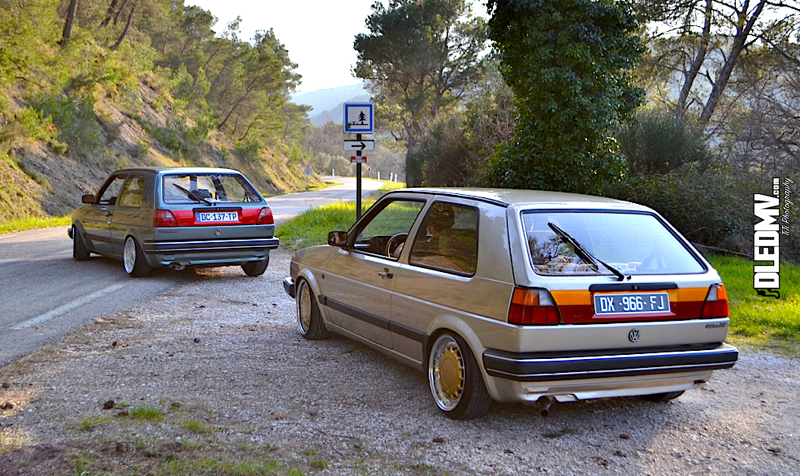 Un duo de golf 2 qui raye le bitume dledmv for Golf 6 gti interieur