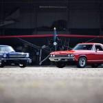 Mustang Vs El Camino - 16 Cylindres en cavale !