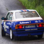 Alfa 75 V6 Onboard - Faut que ça glisse !