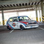 Golf Mk1 Martini Racing - On the rocks !