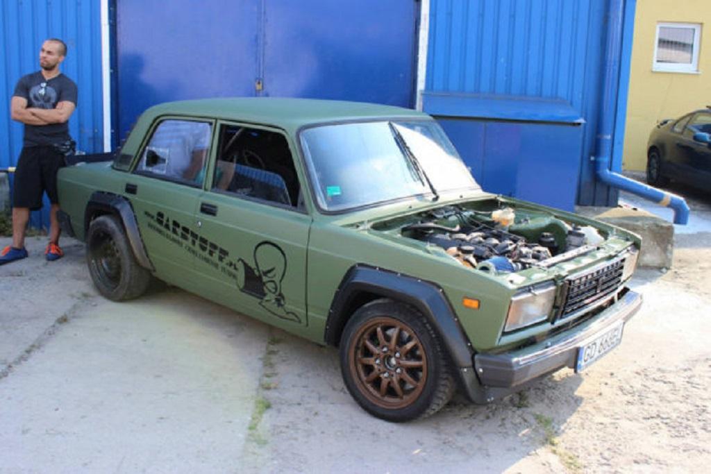 DLEDMV Lada V8 BMW 08