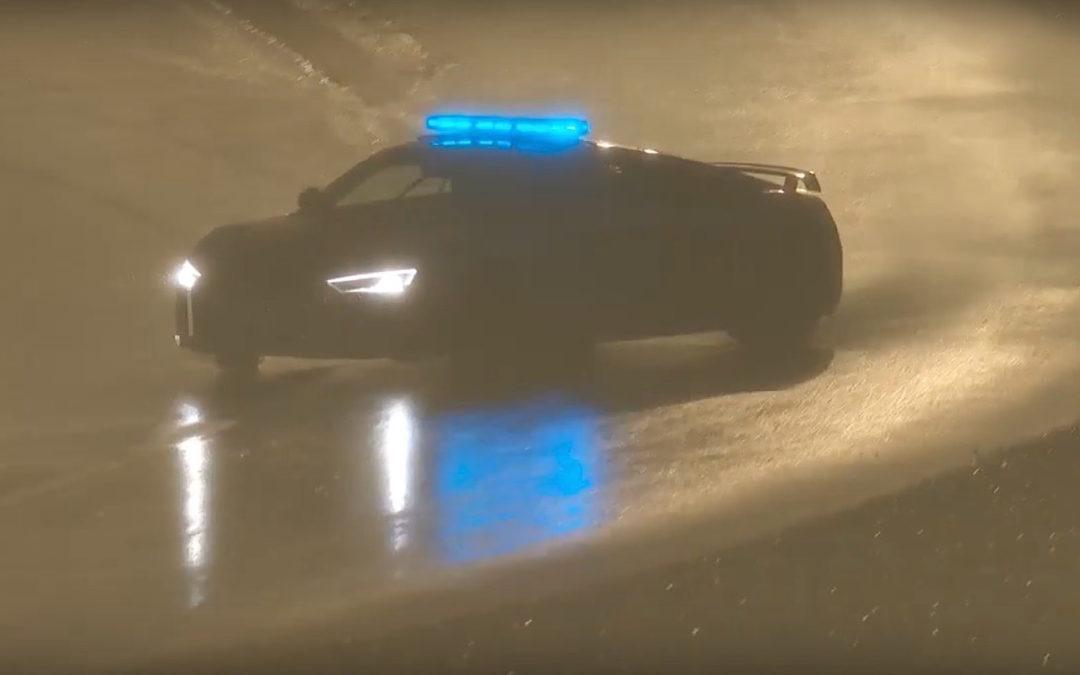 Incontournable : Drift en Audi R8 safety car au Mans !