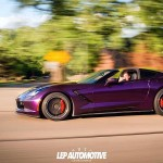 Midnight Purple Corvette C7… Bestiale