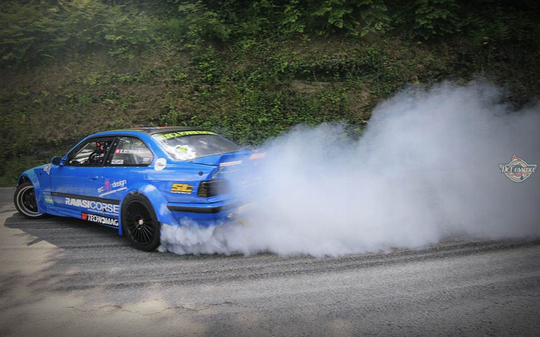 King Of Touge Round 2 – La Chapelle Du Bard : Elle descend de la montagne en travers !