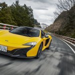 McLaren 650S Spider sur Hakone - Touge en mode British