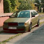 Bagged Octavia Combi 4x4 - Air Panzer !