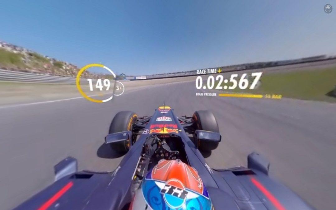 Un petit tour avec Max Verstappen et sa Red Bull à 360° ?