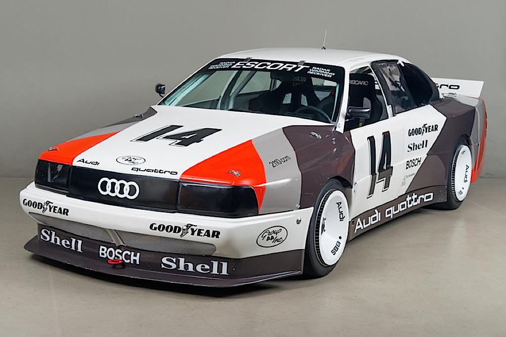 Audi 200 Trans-Am, Quattro pistarde 4