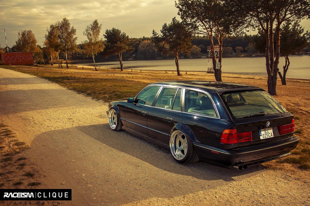 DLEDMV - BMW E34 Touring Slammed - 09