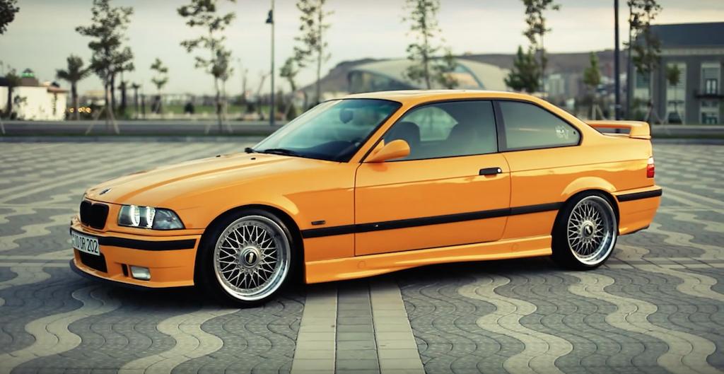 DLEDMV - BMW M3 E36 BBS jaune - 03