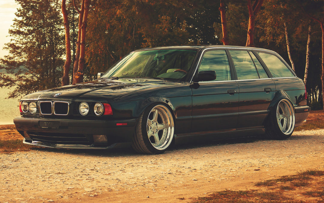 BMW E34 Touring – Stance familly !