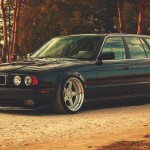 BMW E34 Touring - Stance familly !