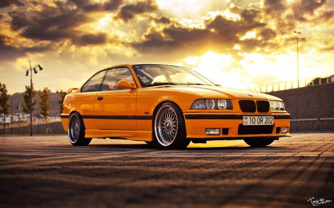 BMW M3 E36… Un poussin en BBS !