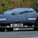 Un tour en Lamborghini Countach 25th Anniversary