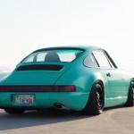 Porsche 964 static... y'a pas que les limaces qui laissent des traces !