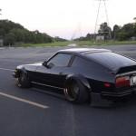 Black Datsun 280ZX... Le monstre ! 3