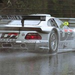 Mercedes CLK GTR... Effrayante !